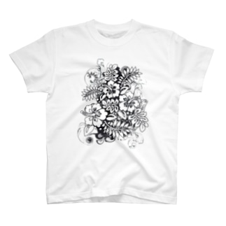 Hibiscus_Growth T-shirts