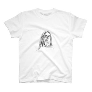 ムキムキパンクロックボーカリスト T-shirts