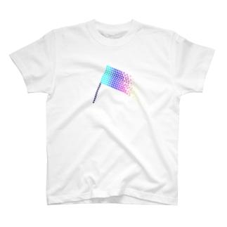 Flag-VIVID T-shirts