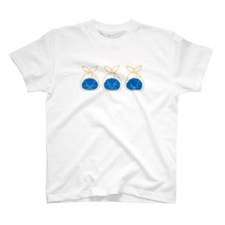 白熊クマ大福 T-shirts