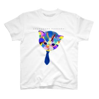 猫for_boy T-shirts