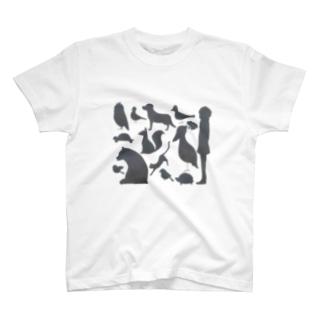 ゆかいなどうぶつたち T-shirts