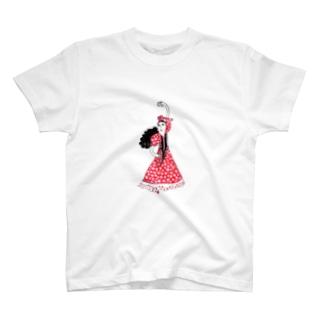 しろくまのフラメンコちゃん T-shirts