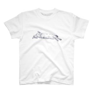 ながーい猫 T-shirts