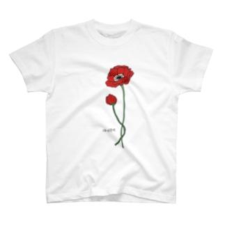 みにハングル+アネモネ T-shirts