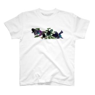 黒オランダ獅子頭 T-shirts