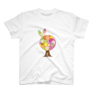 突発性tree T-shirts