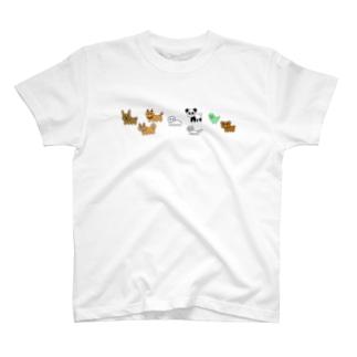 動じないシリーズ T-shirts