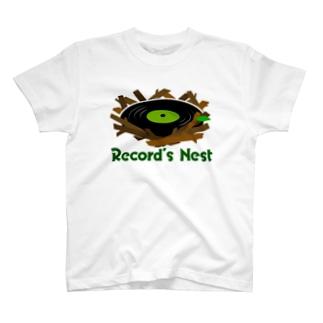 レコードの巣 T-shirts