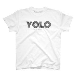 YOLO black T-shirts