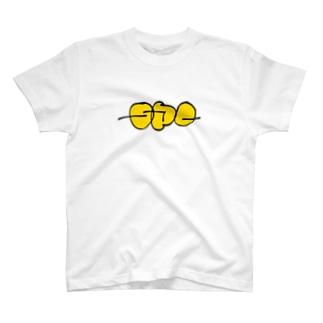 SPCロゴ(yellow)半袖Tシャツ T-shirts