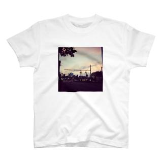 四谷夕景 T-shirts