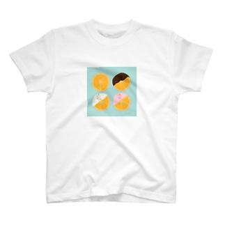 オランジェット(ミントカラー) T-shirts