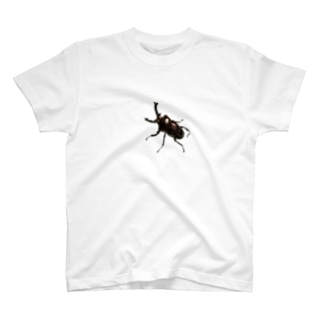 ニジイロクワガタ ダークレッド T-shirts