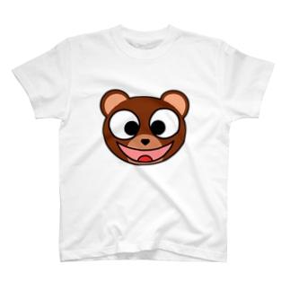 スマイリーベアー T-shirts
