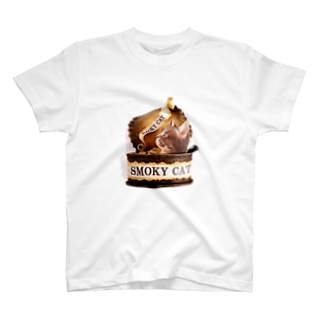 SMOKY CAT T-shirts