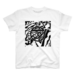 シマウマニャンキイT-shirt T-shirts