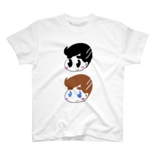ちびふーふー(縦) T-shirts