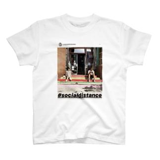 #crazyselfietanaka #socialdistance T-shirts