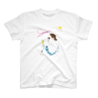 summer@Takako T-shirts