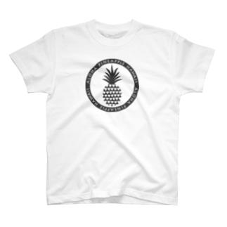 アロハパイナップル13(heart) T-shirts