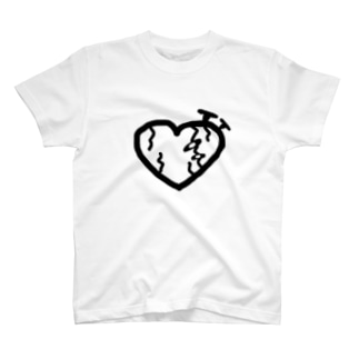 ボロボロのハート T-shirts