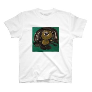 犬みたいなものグラス T-shirts