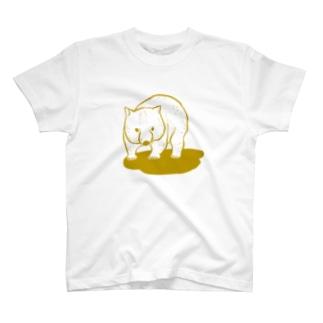 ウォンバットさん(地面付き) T-shirts