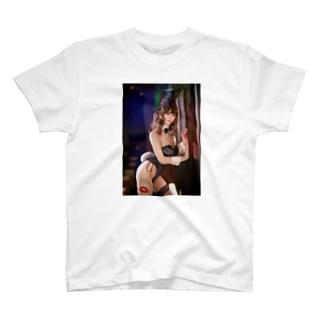 美女T関西 No.9 @4nemuko_g  T-shirts