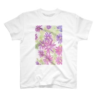 紫花火 T-shirts