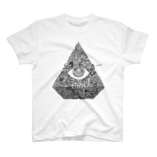 MEISONくん モノクロ T-shirts