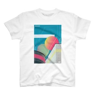 """図形の思索 """"expansion"""" T-shirts"""