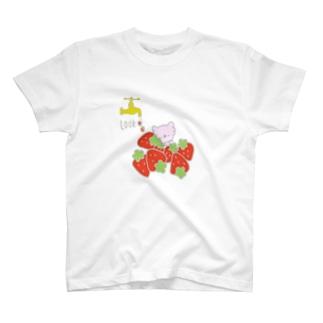 蛇口から苺 T-shirts