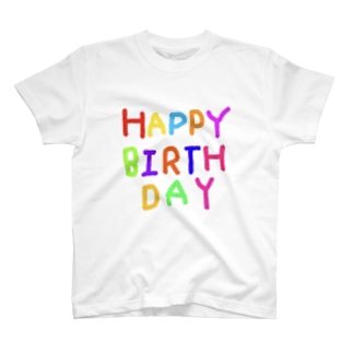 HAPPYBIRTHDAYーお誕生日専用 T-shirts