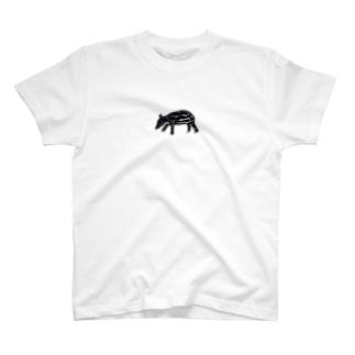 マレーバクのこどもくん T-shirts