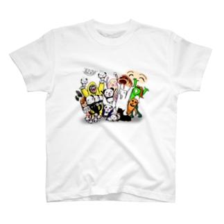 しゅりんぷぅオールスターズ T-shirts