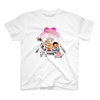 ふわふわパンケーキ T-shirts
