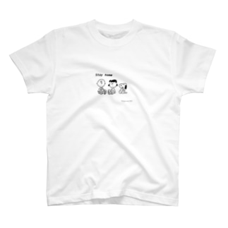 Stay home SNOOPY T-shirts