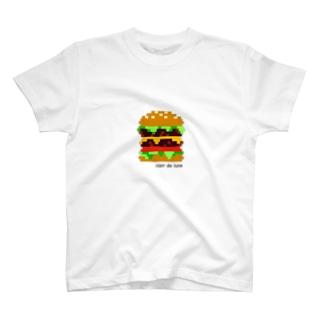 ダブルチーズバーガー T-shirts