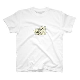 水瓶座 フレブル T-shirts