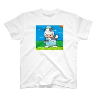 牛さん@精肉担当 T-shirts