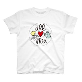 オール三重/ワニくん T-shirts
