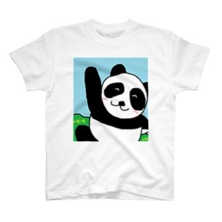 パンダさん@超元気 T-shirts