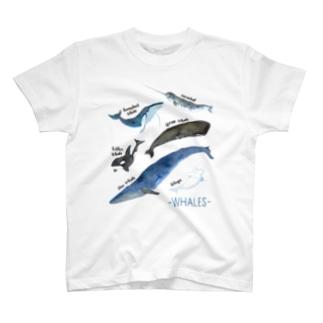 クジラまみれ T-shirts