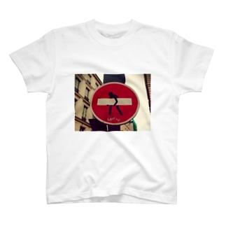 フランスの看板 T-shirts