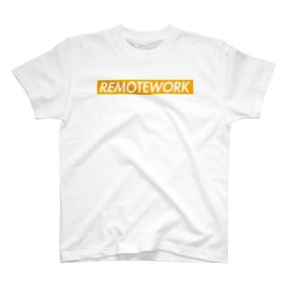 リモートワーク T-shirts