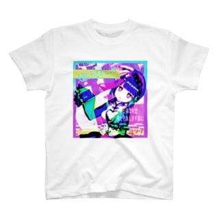 不死奇蒸気波スタンダード T-shirts