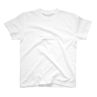 カラフルシリーズ (ドットライン) T-shirts