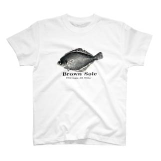 マガレイ!【真鰈:Gyotaku】 T-shirts