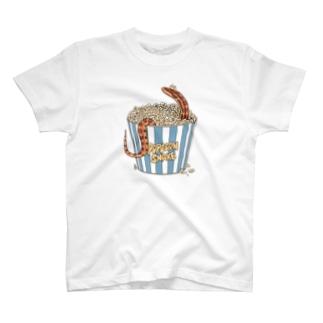 ポップコーンスネーク(ノーマル) T-shirts